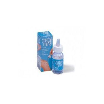 Cristalmina solución cutánea 25 mL