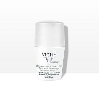 Desodorante anti transpirante roll on calmante 48 horas Vichy