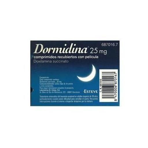Dormidina 25 mg 14 comprimidos [0]