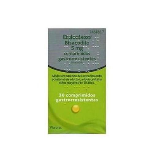 Dulcolaxo 5 mg 30 comprimidos gastrorresistentes