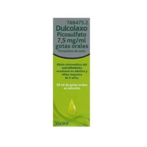Dulcolaxo 7,5 mg/mL gotas orales 30 mL