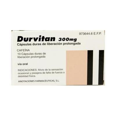 Durvitan 300 mg 10 cápsulas