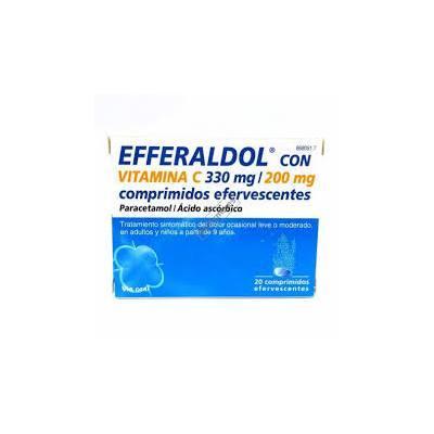 Efferaldol Vitamina C 20 comprimidos efervescentes