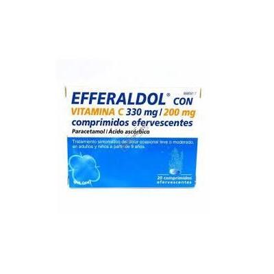 Efferaldol Vitamina C 20 comprimidos efervescentes [0]