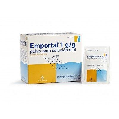 Emportal 10 g polvo para solución oral sobres