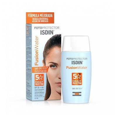 Fotoprotector ISDIN Fusion Water SPF50+ 50 mL