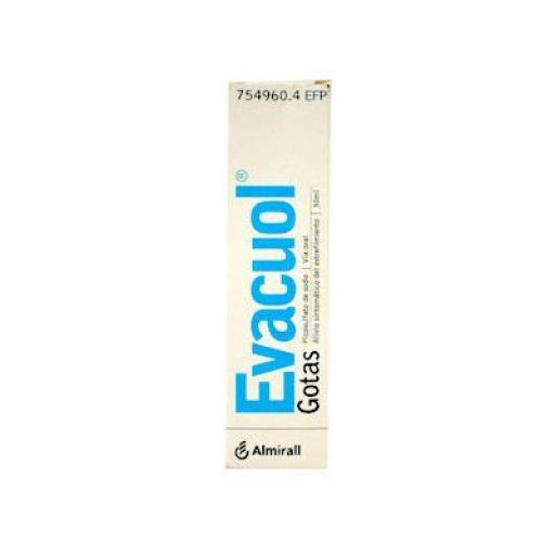 Evacuol 7,5 mg/mL gotales orales en solución 30 mL