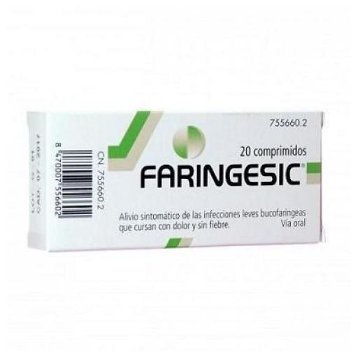 Faringesic 20 comprimidos para chupar [0]