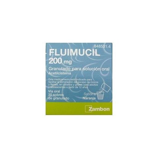 Fluimucil 200 mg 30 sobres [0]