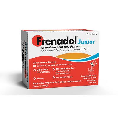 Frenadol Junior 10 sobres