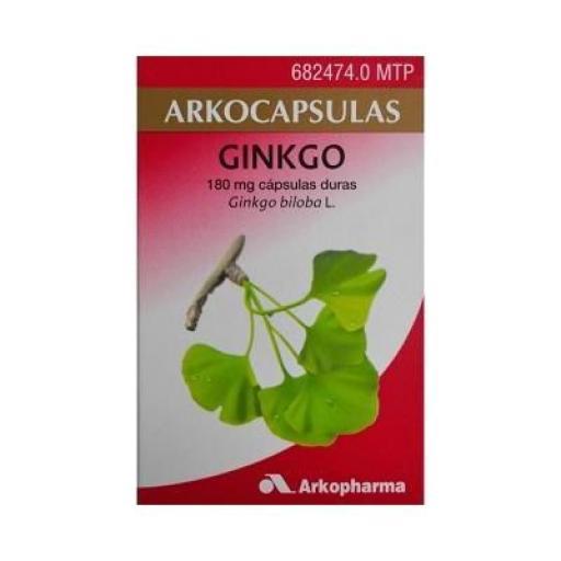 Ginkgo Arkopharma 100 cápsulas