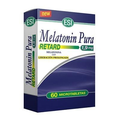Melatonin Pura retard 1,9 mg 60 microtabletas