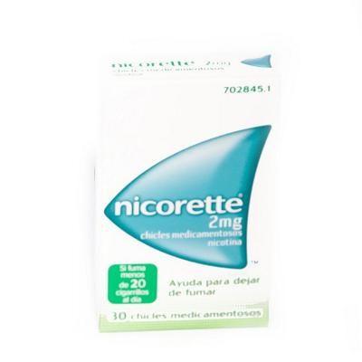 Nicorette 2 mg chicles