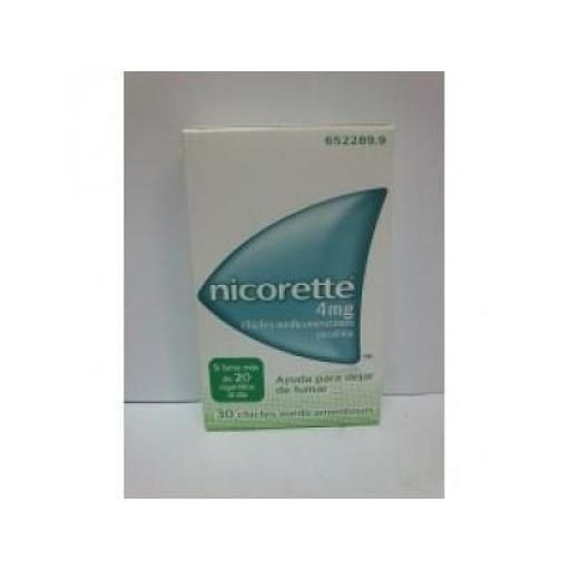 Nicorette 4 mg 30 chicles [0]
