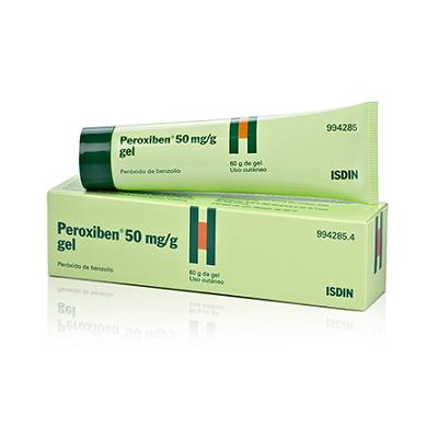 Peroxiben50 mg/g gel 30 g