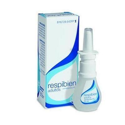 Respibien 0,5mg/mL solución para pulverización nasal 15 mL