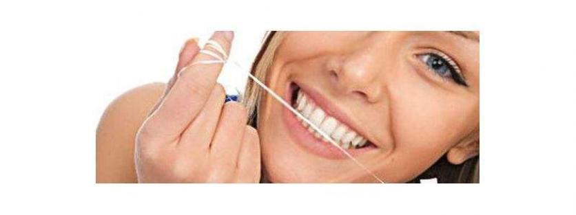 - Cintas, hilos y sedas dentales