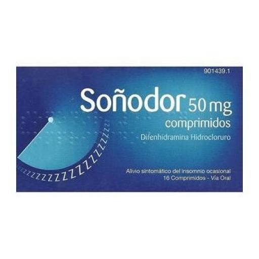 Soñodor 50 g comprimidos