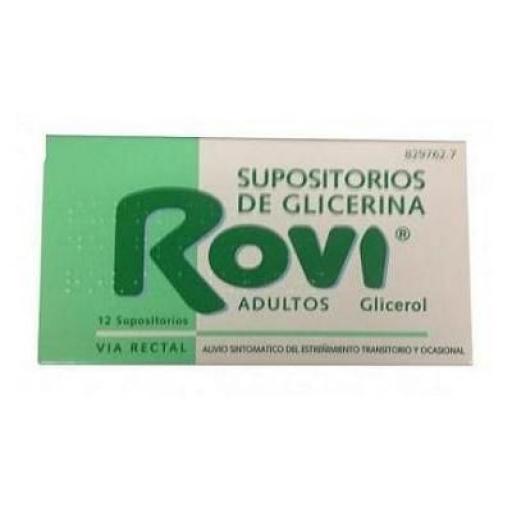 Supositorios de glicerina Rovi adultos 12 unidades [0]