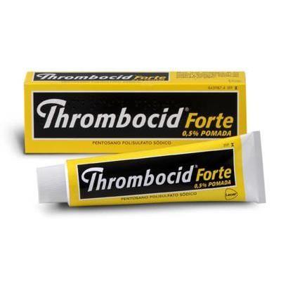 Thrombocid forte 5 mg/g pomada 60 g