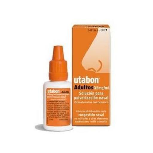 Utabon adultos 0,5 mg/mL solución para pulverización nasal