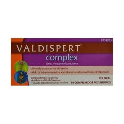 Valdispert Complex 50 comprimidos recubiertos