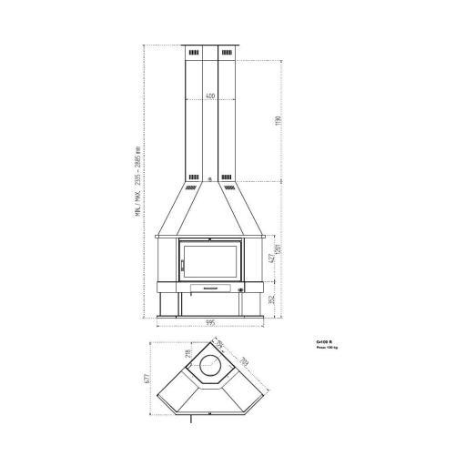 CHIMENEA METALICA RINCON MODELO CASTELLON [2]