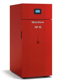 CALDERA PELLET EXTRAFLAME HP22  22.5 KW SEMIAUTOMATICA