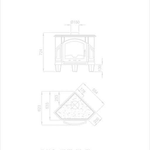 Estufa ALTEA RINCON  8KW [1]