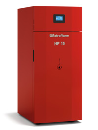 CALDERA PELLET EXTRAFLAME HP 15 15.2 KW SEMIAUTOMATICA
