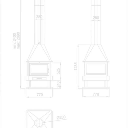 Chimenea HUELVA  12 KW [1]