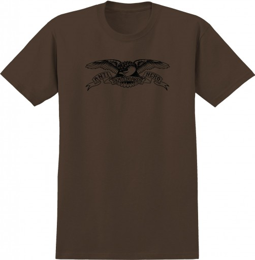 CAMISETA ANTI HERO BASIC EAGLE - COFEE