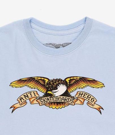 CAMISETA ANTI HERO EAGLE - POWDER BLUE [1]
