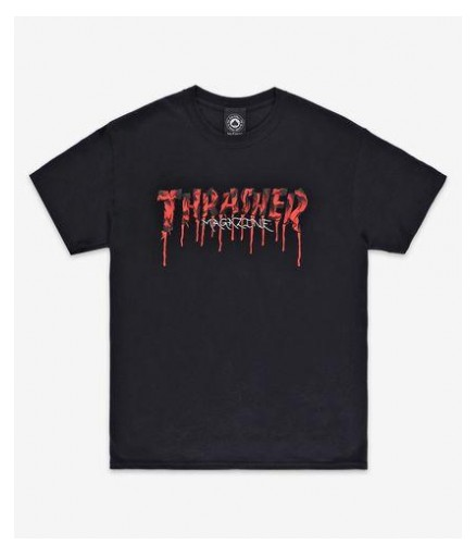 CAMISETA THRASHER BLOOD DRIP TEE - BLACK