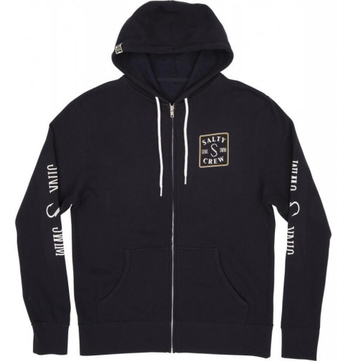 SUDADERA SALTY CREW SQUARED UP - NAVY