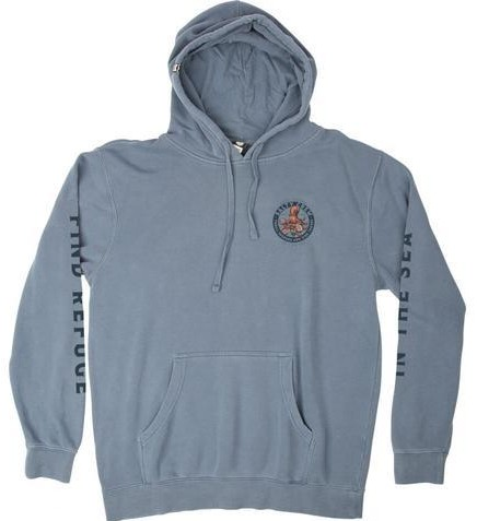 SUDADERA SALTY CREW DEEP REACH OVERDYED FLEECE - BLUE [0]