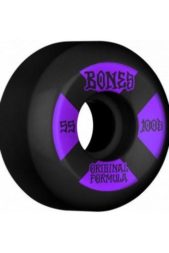 RUEDAS BONES 100´S #4 V5 55mm OGF - BLACK