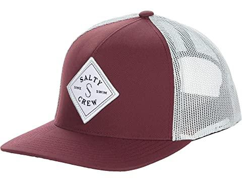 GORRA SALTY CREW SEA LINE RETRO TRUCKER - BURDEOS