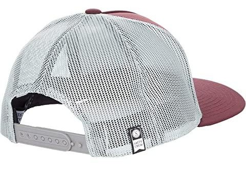 GORRA SALTY CREW SEA LINE RETRO TRUCKER - BURDEOS [1]