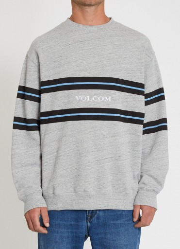 SUDADERA VOLCOM ZERO DIVISION CREW - HEATHER GREY