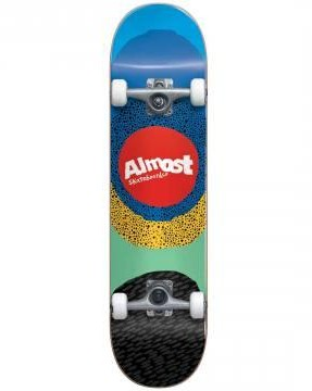 "SKATE COMPLETO ALMOST RADIATE FP 8.25"" - BLUE"