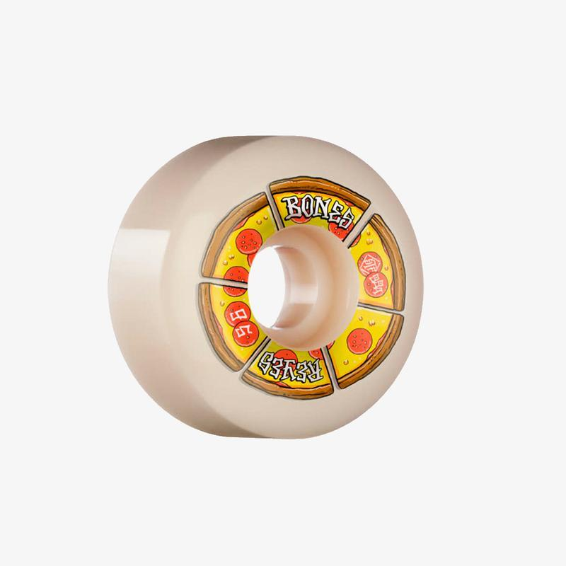 RUEDAS BONES REYES PIPIN HOT 56MM V6 WIDE-CUT STF 99A