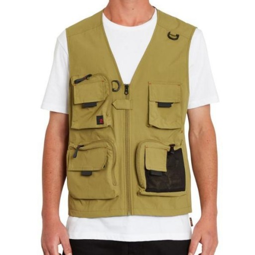 CHALECO VOLCOM LOOSE TRUCKS VEST - OLD MILL