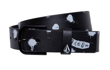 CINTURON VOLCOM EMPTY PU BELT - BLACK [0]
