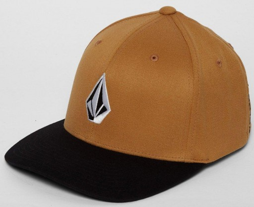GORRA VOLCOM FULL STONE XFIT - GOLDEN BROWN