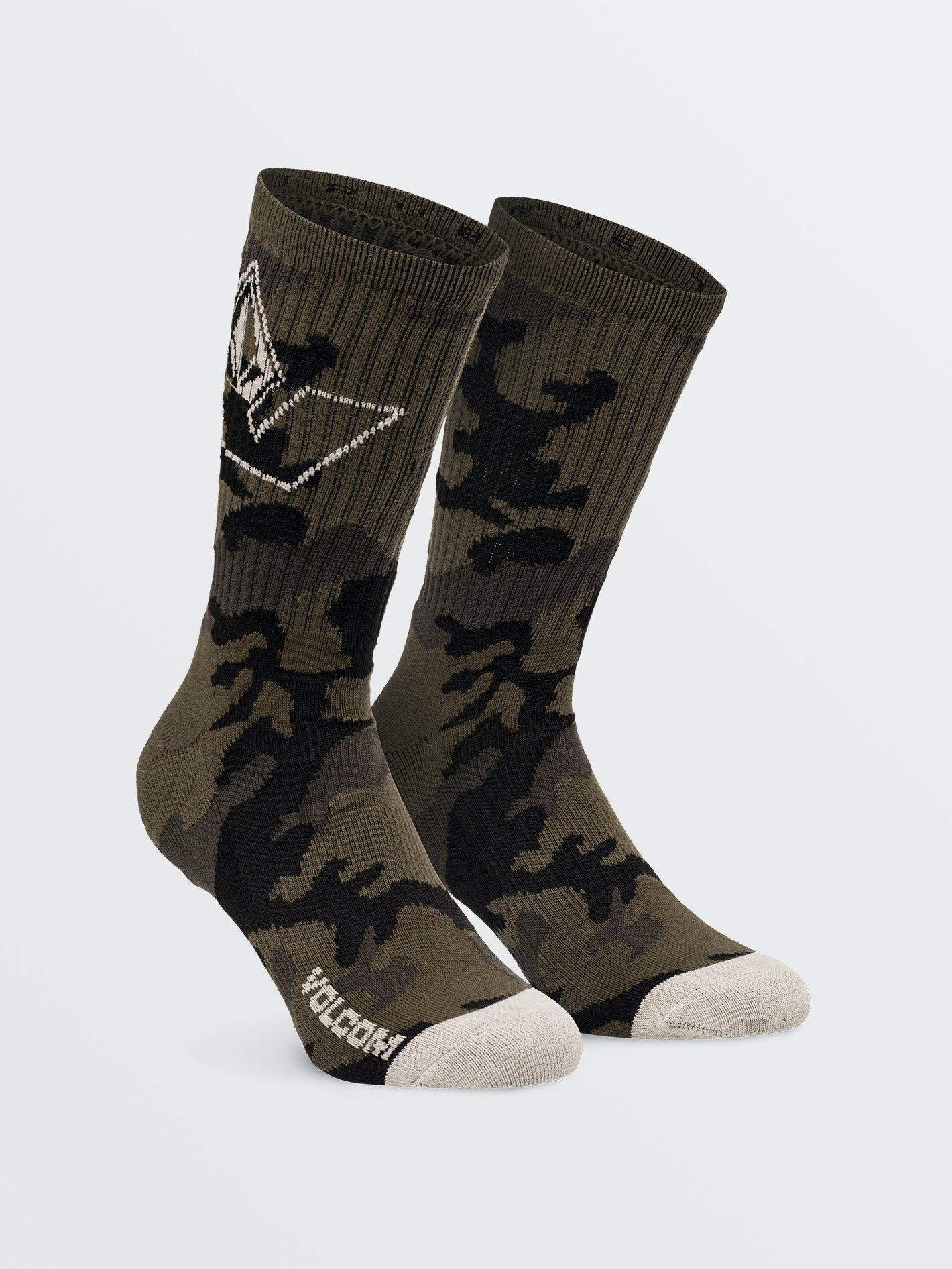 CALCETINES VOLCOM VIBES - MILITARY