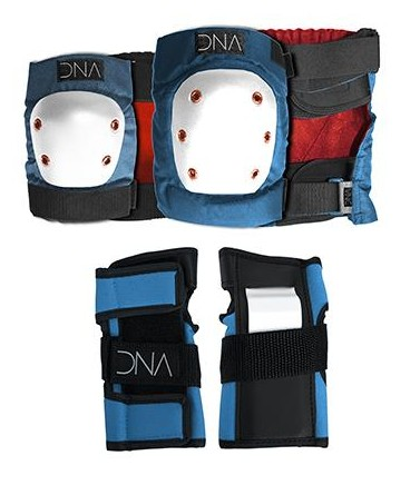 PACK PROTECCIONES DNABlue Knee & Elbow Kids Pack - XS