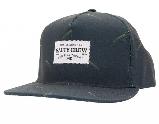 GORRA SALTY CREW BERNACLE 5 PANEL - NAVY