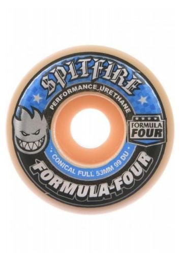 RUEDAS SKATE SPITFIRE WHEELS F4 99 CNCL FULL 54MM / 52MM