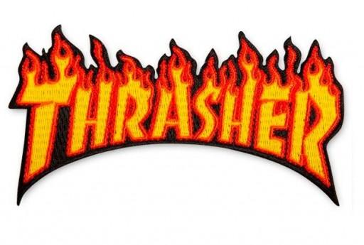 PARCHE THRASHER FLAME LOGO